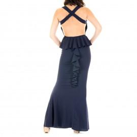 Μαύρο Maxi Φόρεμα