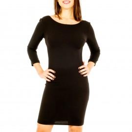 Μαύρο Mini Φόρεμα με Αλυσίδες