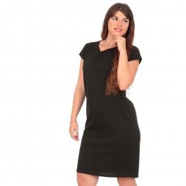 Μαύρο Midi Φόρεμα
