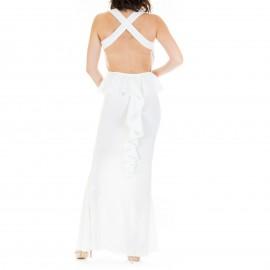 Λευκό Maxi Φόρεμα