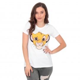 tsh-lion (wht)