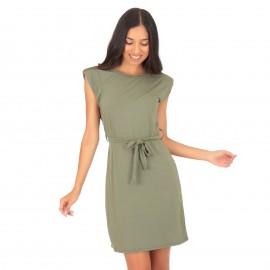 Πράσινο Αμάνικο Mini Φόρεμα...