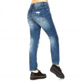 Skinny Jean με Σκισίματα