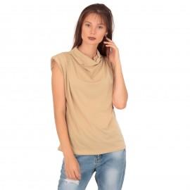 Χρυσή Αμάνικη Μπλούζα...
