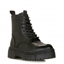 Wrangler Piccadilly Hi Polished WL02663A-O62 Black