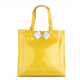 Ted Baker Tiecon Bow Shopper Icon Bag Yellow