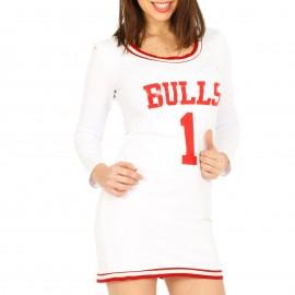 Λευκό Μπλουζοφόρεμα Bulls