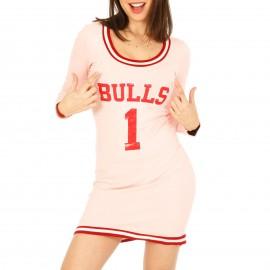 Ροζ Μπλουζοφόρεμα Bulls