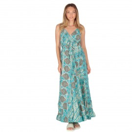 Φλοράλ Maxi Φόρεμα με Boho...