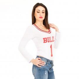 Λευκό Κορμάκι Bulls