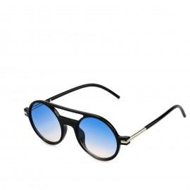 Γυαλιά Ηλίου με Γαλάζιο Στρογγυλό Φακό