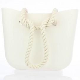 Λευκή Τσάντα σιλικόνης