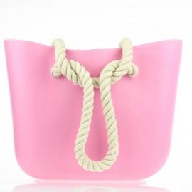 Ροζ Τσάντα σιλικόνης