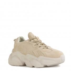 Κρεμ Σουέτ Chunky Sneakers...