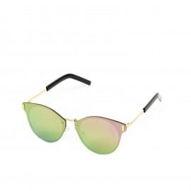 Γυαλιά Ηλίου Ροζ Οβάλ Φακό