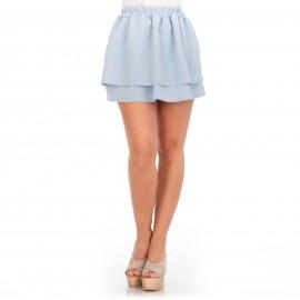 Γαλάζια Mini Φούστα Κλος