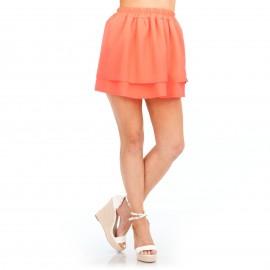 Πορτοκαλί Mini Φούστα Κλος