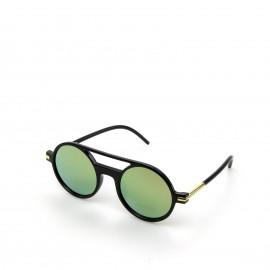 Γυαλιά Ηλίου με Πράσινο Στρογγυλό Φακό