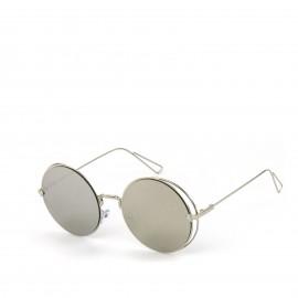 Γυαλιά Ηλίου με Ασημένιο Στρογγυλό Φακό