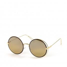Γυαλιά Ηλίου με Καφέ Στρογγυλό Φακό