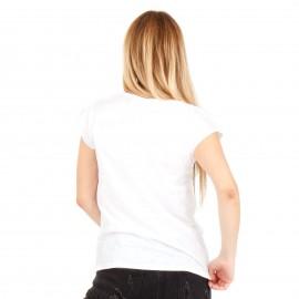 """Λευκό T-Shirt με Στάμπα """"Gucci"""""""