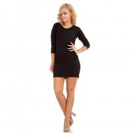 Μαύρο Mini Φόρεμα με Κορδέλα