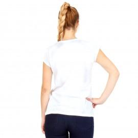 Λευκό Μπλουζάκι με Γράμματα