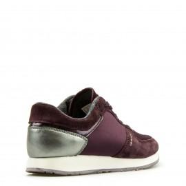 Μπορντό Δερμάτινα Sneakers Gant
