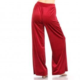 Κόκκινη Βελούδινη Παντελόνα