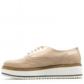 Nude Oxfords