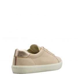Ροζ Δερμάτινα Sneakers Gant