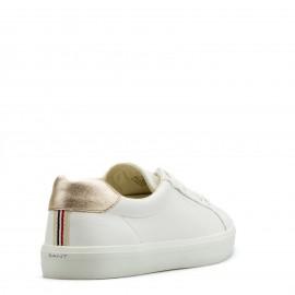 Λευκά Δερμάτινα Sneakers Gant