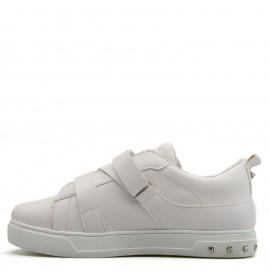 Λευκά Sneakers με Ζωνάκια και Τρουκς