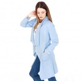 Μπλε Oversized Σακάκι
