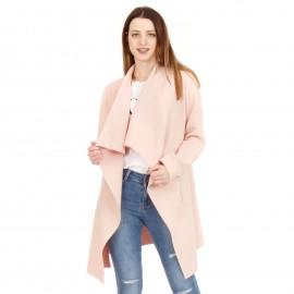 Ρόζ Oversized Σακάκι