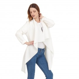 Λευκό Oversized Σακάκι