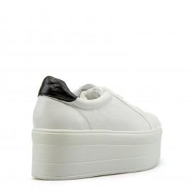 Λευκά Δίπατα Sneakers