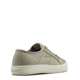 Ασημένια Πάνινα Sneakers Gant