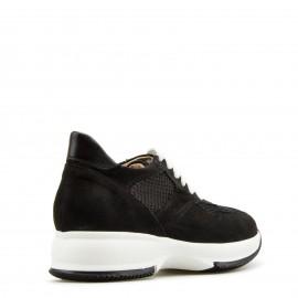 Μαύρα Δετά Sneakers