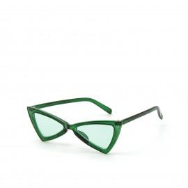 Γυαλιά Ηλίου Πράσινα με Μπλε Φακό