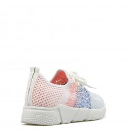 Δίχρωμα Sneakers με Δίχτυ