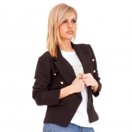 Μαύρο Σακάκι με Κουμπιά