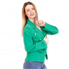 Πράσινο Σακάκι με Κουμπιά