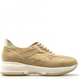 Μπεζ Δετά Sneakers