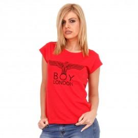 Κόκκινο Μπλουζάκι με Γράμματα