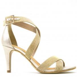 Χρυσό Πέδιλο S.Oliver με Glitter