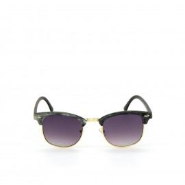 Γυαλιά Ηλίου Ξύλινα με Μώβ Φακό