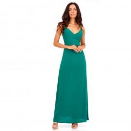 Πράσινο Maxi Φόρεμα