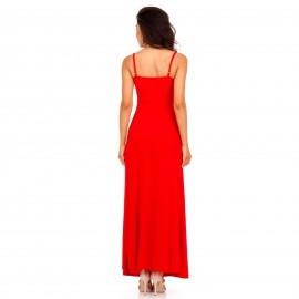 Κόκκινο Maxi Φόρεμα