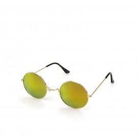 Γυαλιά Ηλίου με Κίτρινο Στρογγυλό Φακό